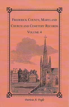 Image for Frederick County, Maryland Church and Cemetery Records: