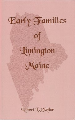 Image for Early Families of Limington Maine