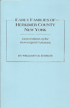 Image for Early Families of Herkimer County, New York:  Descendants of the Burnetsfield Patentees