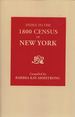 Image for Index to the 1800 Census of New York