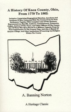 Image for A History of Knox County Ohio, From 1779 To 1862: