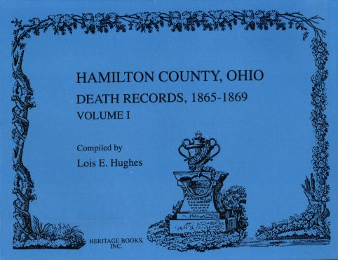 Image for Hamilton County Death Records, 1865-1869