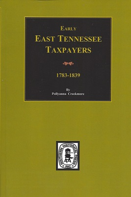 Image for Early East Tennessee Taxpayers, 1778-1839