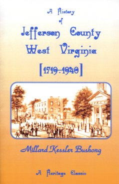 Image for History of Jefferson County, West Virginia [1719-1940]