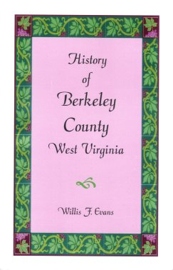 Image for History of Berkeley County, West Virginia