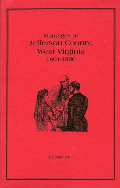 Image for Marriages of Jefferson County, West Virginia 1801-1890