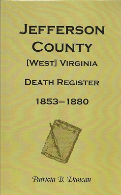 Image for Jefferson County, Virginia/West Virginia, Death Records, 1853-1880